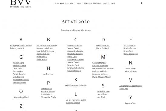 BVV Biennale Ville Venete