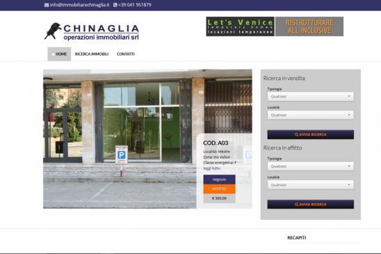 realizzazione sito web Chinaglia