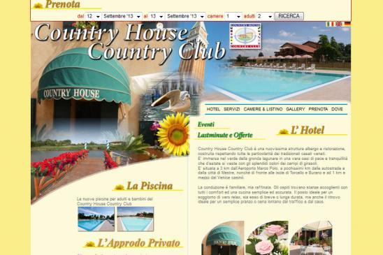 realizzazione sito web Country House