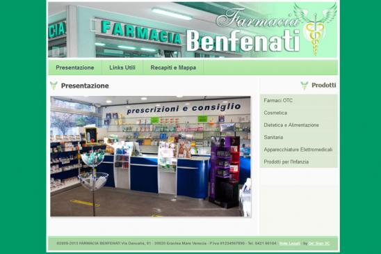 realizzazione sito web Benfenati