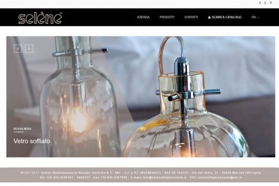 realizzazione sito web Selene