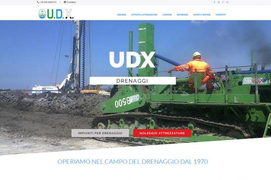 realizzazione sito web Udx