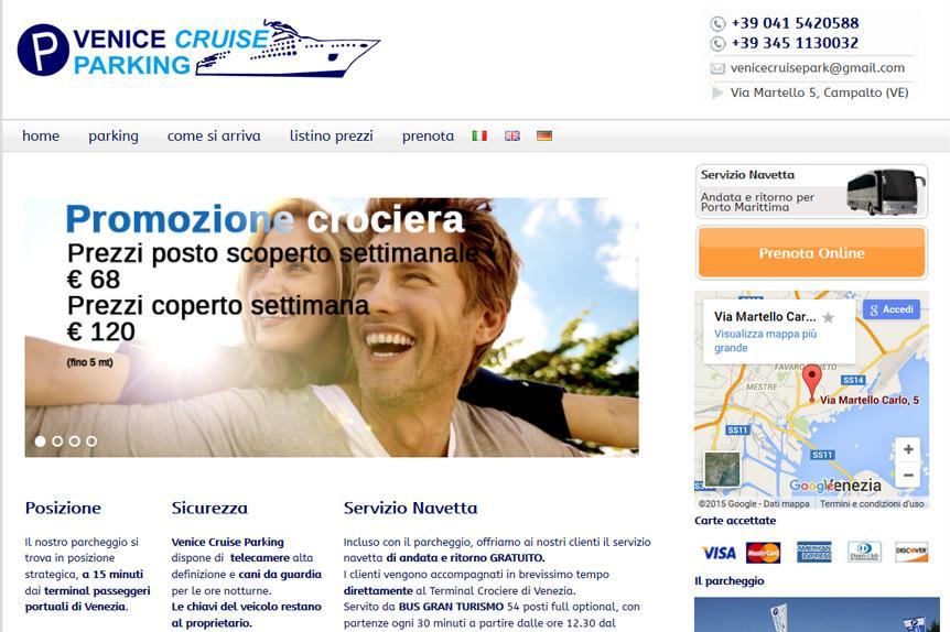 Venice Cruise Parking